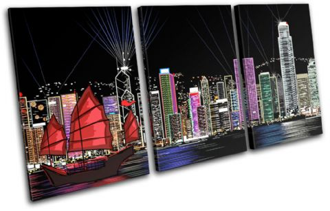 Hong Kong Illustration City - 13-0587(00B)-TR21-LO